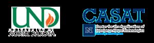 UND and CASAT logos